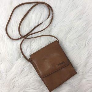 Fossil Vintage Mini Organizer Wallet Crossbody Bag